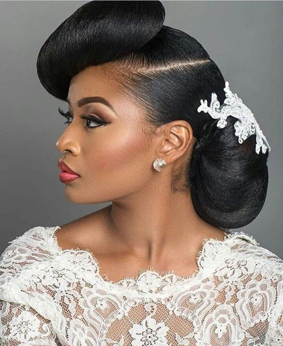 Black Braided Wedding Hairstyles: 2018 Wedding Hairstyle Ideas For Black Women