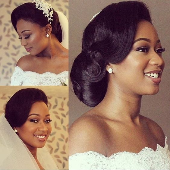 Hairstyles For Weddings Bridesmaid African American: 2018 Wedding Hairstyle Ideas For Black Women