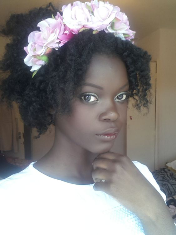 Now Trending - Floral Crowns & Natural Hair 10