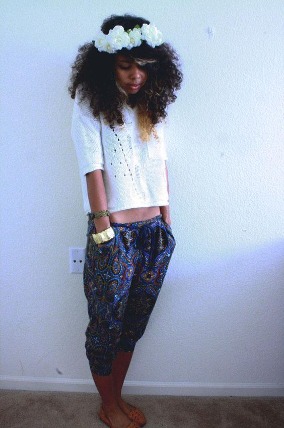Now Trending - Floral Crowns & Natural Hair 16