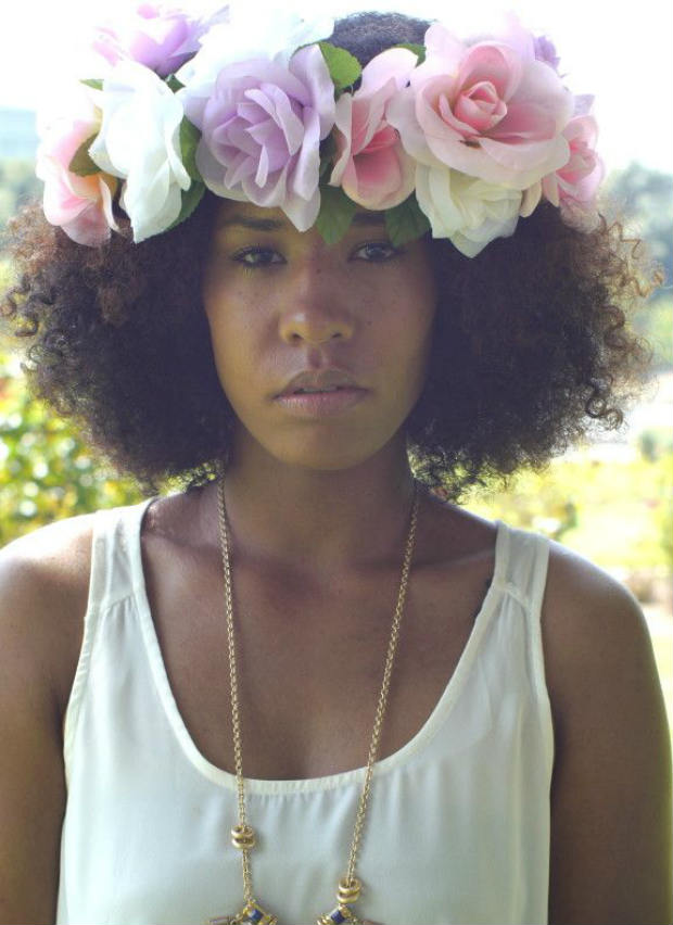 Now Trending - Floral Crowns & Natural Hair 2