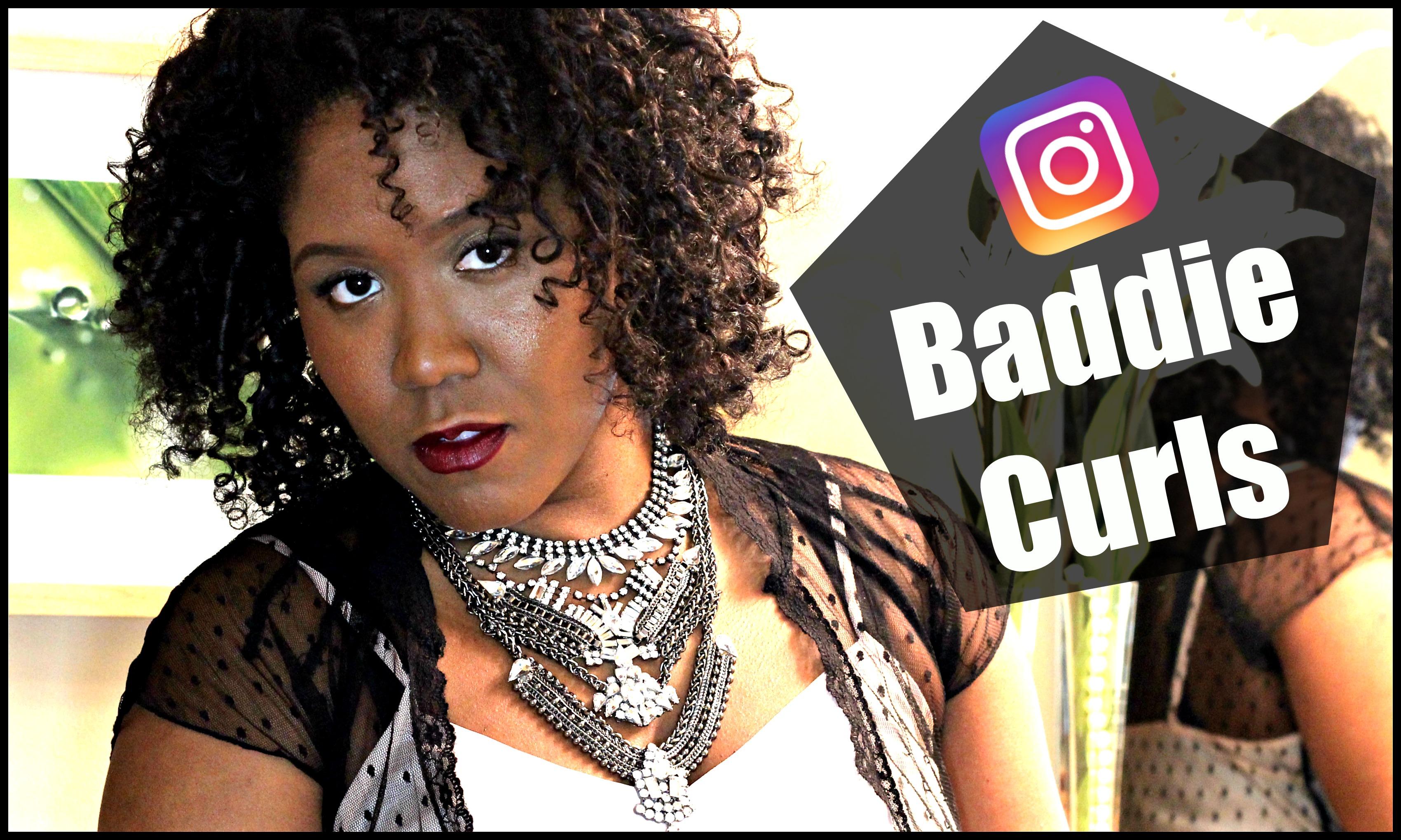 Instagram Baddie Curly Hair Tutorial - The Style News Network